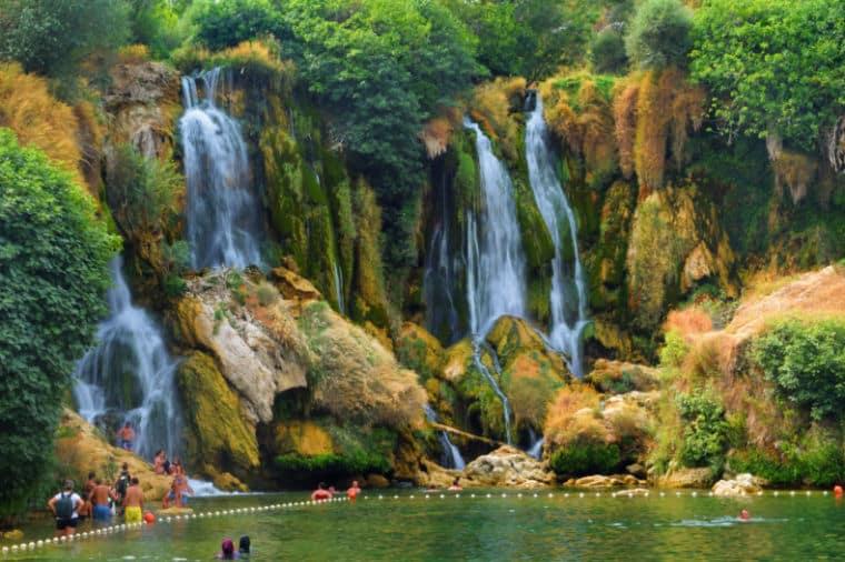 cachoeira kravice bosnia herzegovina