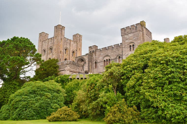 castelo de Penrhyn pais de gales
