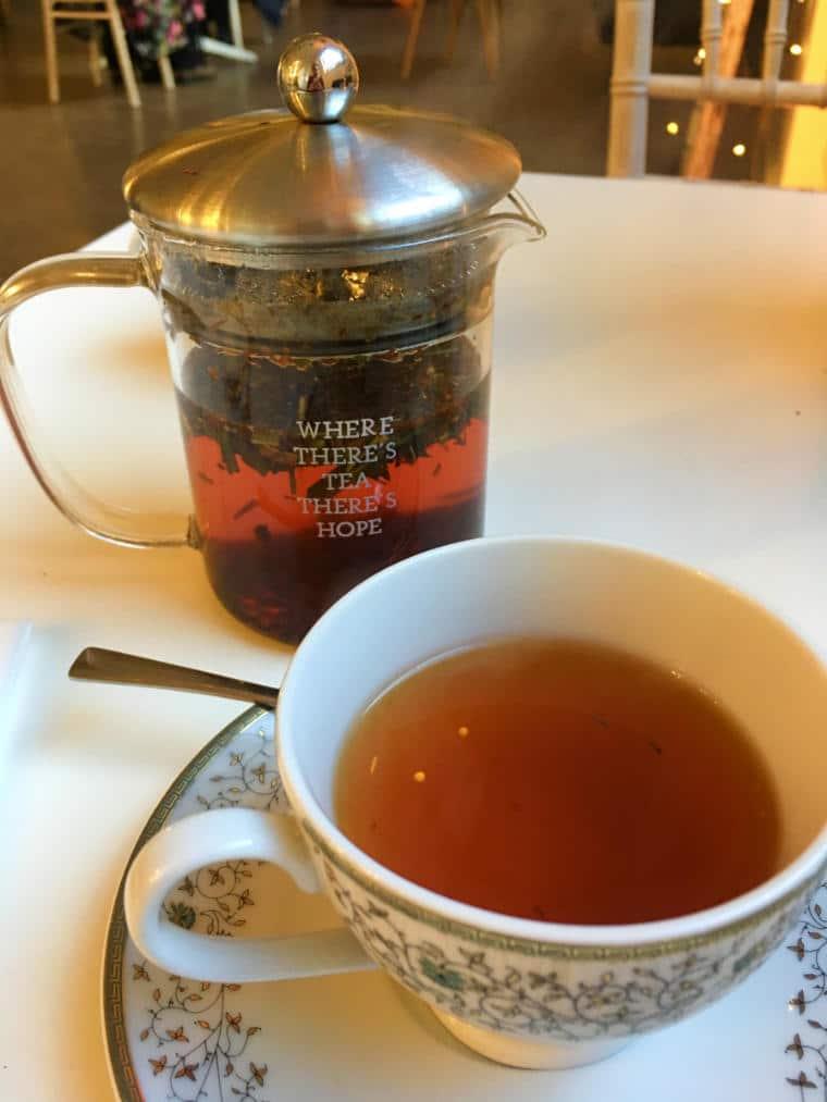 chá da tarde inglaterra