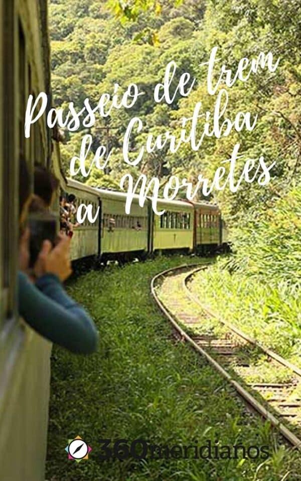 passeio trem de curitiba a morretes vista janela floresta