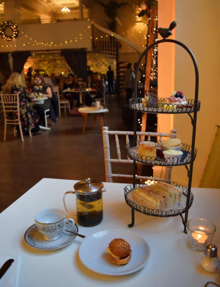mesa chá da tarde inglaterra