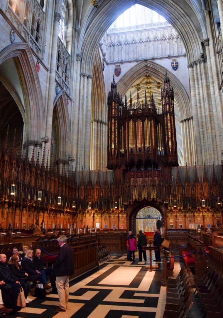 o que fazer em york inglaterra dentro da york catedral
