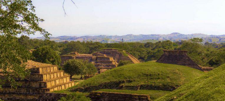 Visita à cidade do trovão, a zona arqueológica do Tajín