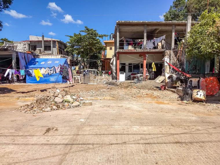Terremoto no México - Juchitán
