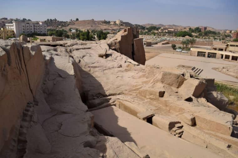 Antiga Pedreira Aswan Obeliscos