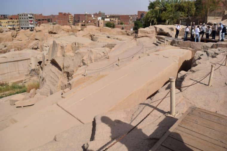 Obelisco Inacabado Aswan Egito