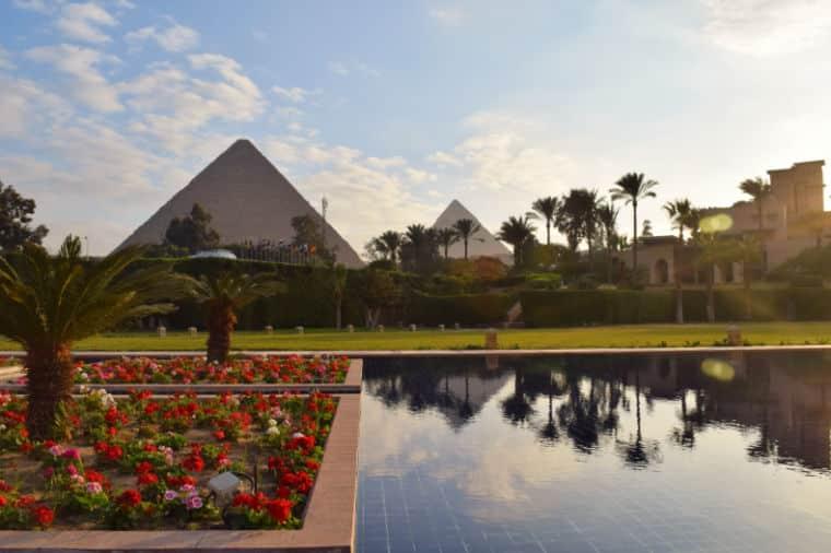 Vista Piramides Egito Cairo