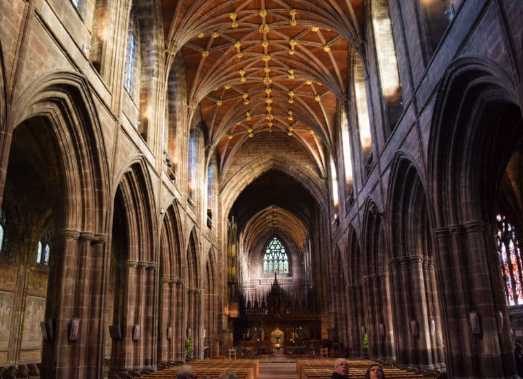 chester inglaterra catedral dentro