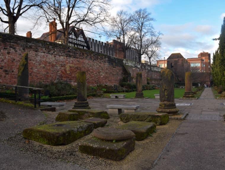 chester inglaterra roman gardens