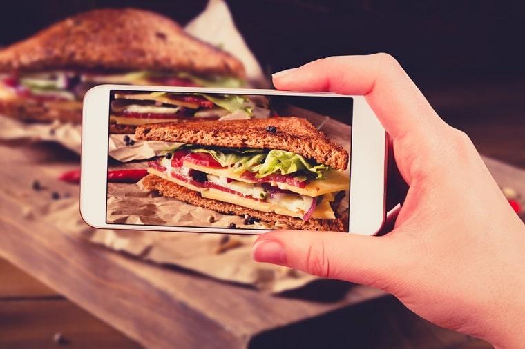 como o instagram mudou sua comida
