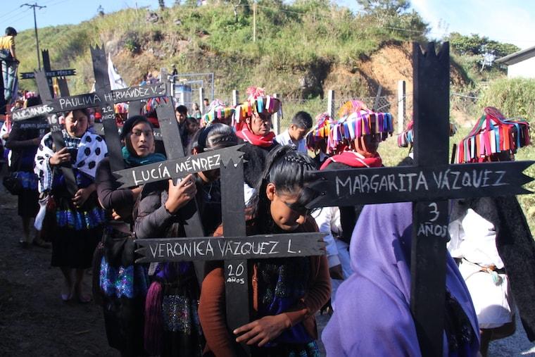 20 anos do massacre de Acteal, Chiapas