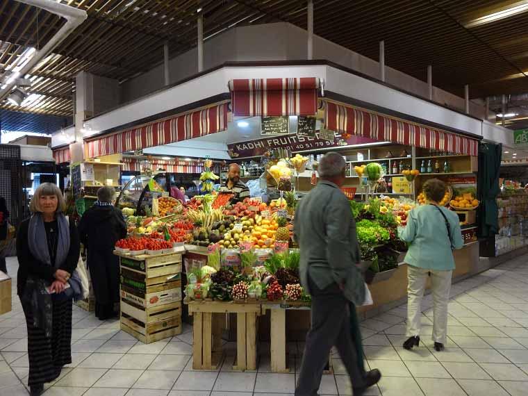 Mercado em Paris
