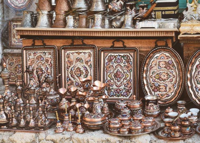 mostar bosnia herzegovina artesanato cobre