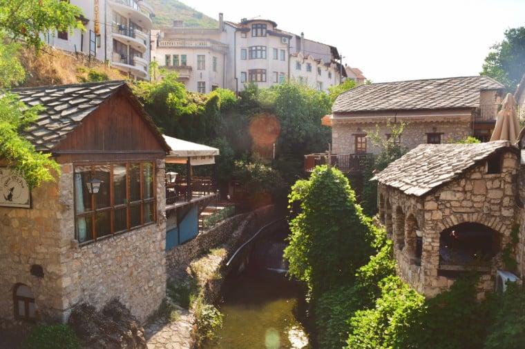 mostar bosnia herzegovina casas pedra