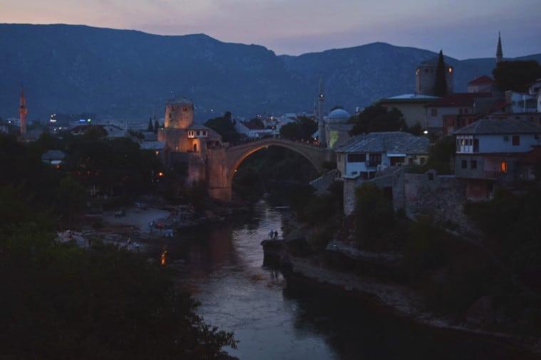 mostar bosnia herzegovina outra ponte