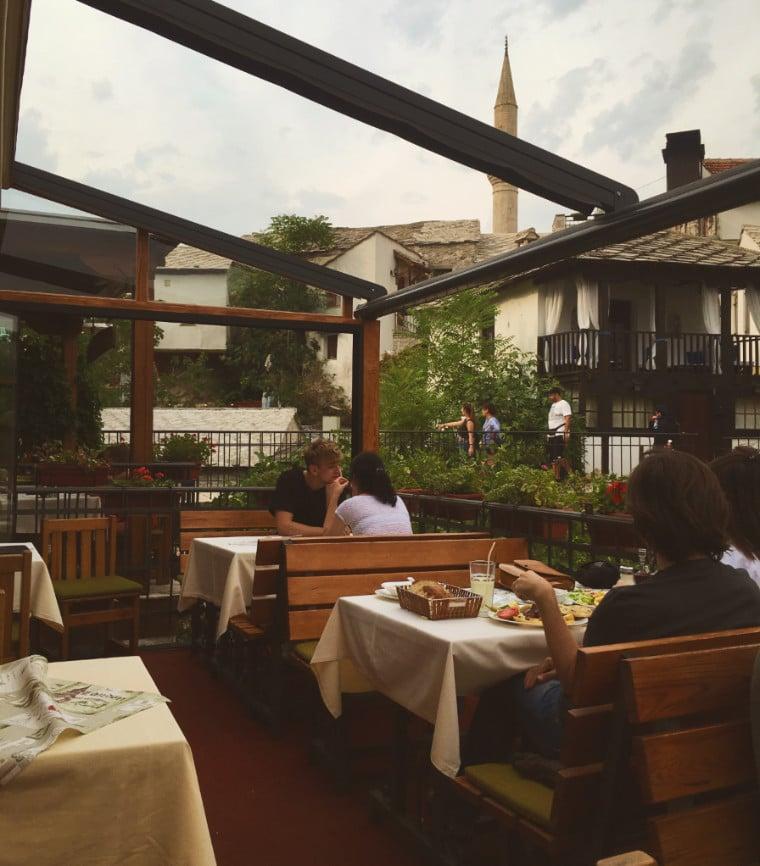 mostar bosnia herzegovina restaurante