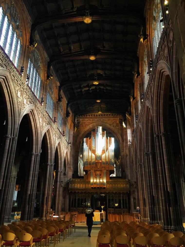 o que fazer em manchester catedral