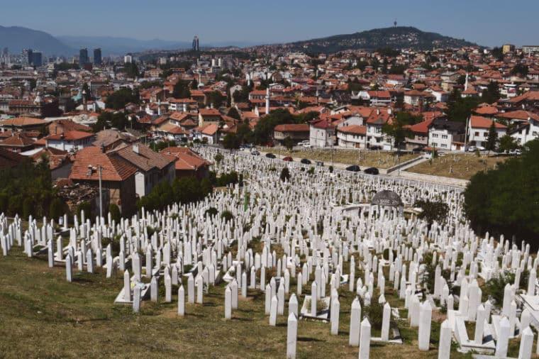 o que fazer em sarajevo bosnia cemiterio