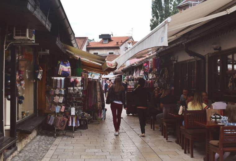 o que fazer em sarajevo bosnia centro velho