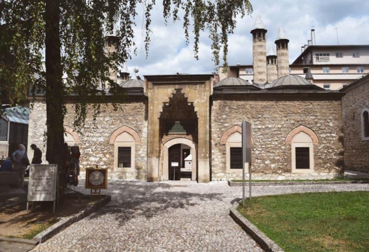o que fazer em sarajevo bosnia mesquita
