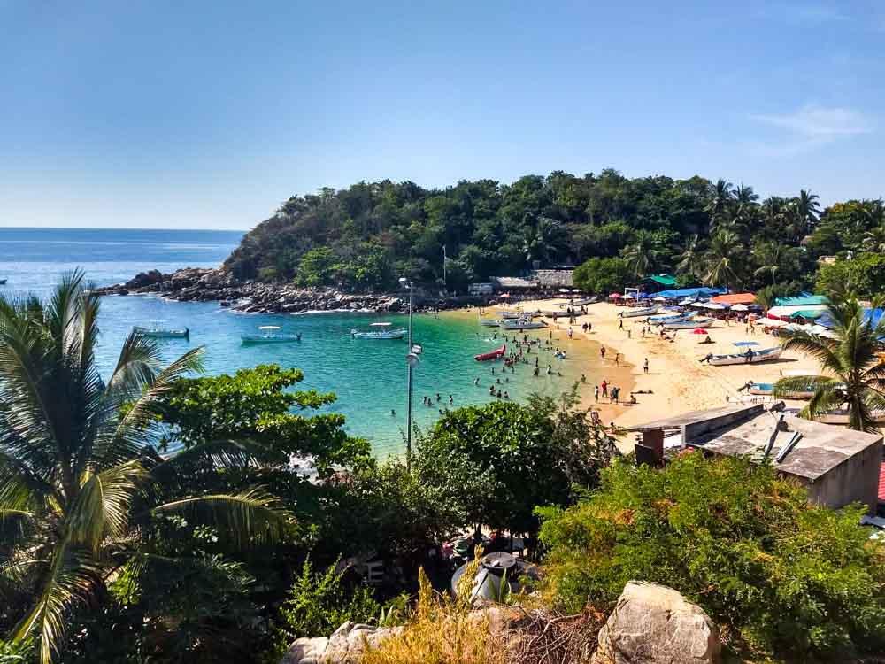 Puerto Escondido: praia e surf no méxico