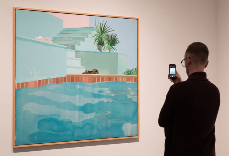 David Hockney MET Victoria Pickering 1