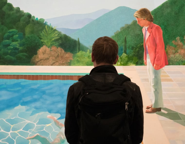David Hockney MET Victoria Pickering 3