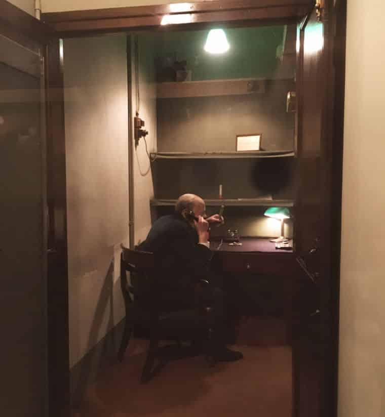 Winston Churchill Memorias da Segunda Guerra bunker