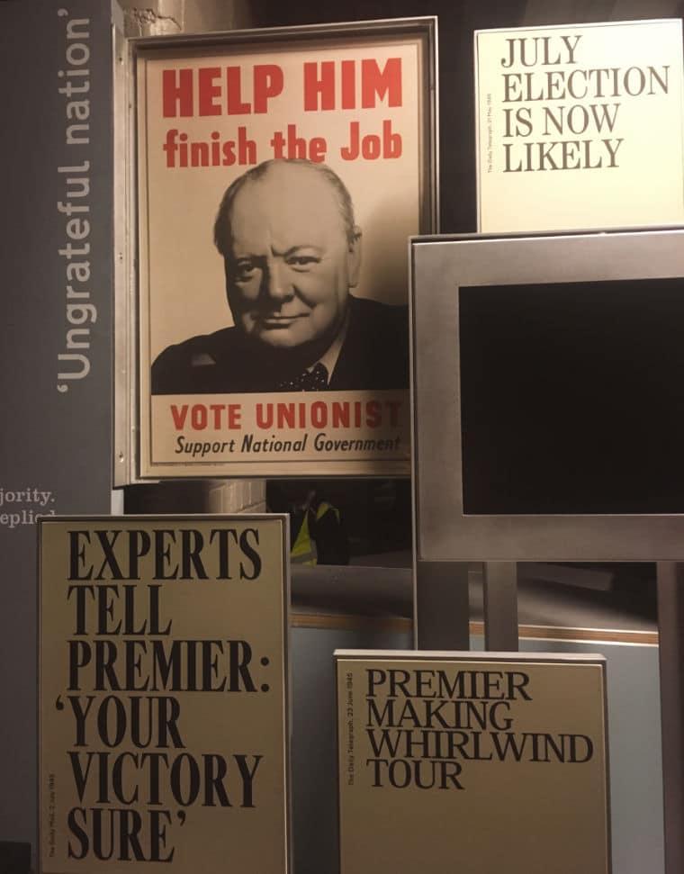 Winston Churchill Memorias da Segunda Guerra eleições 1945
