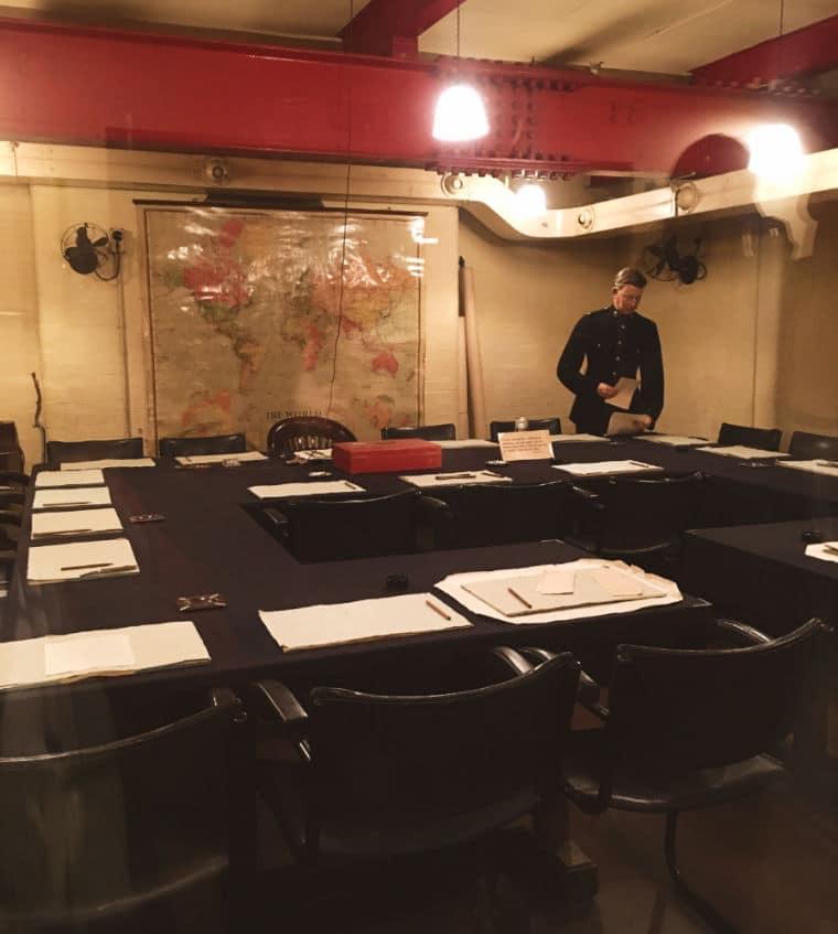 Winston Churchill Memorias da Segunda Guerra gabinete de guerra