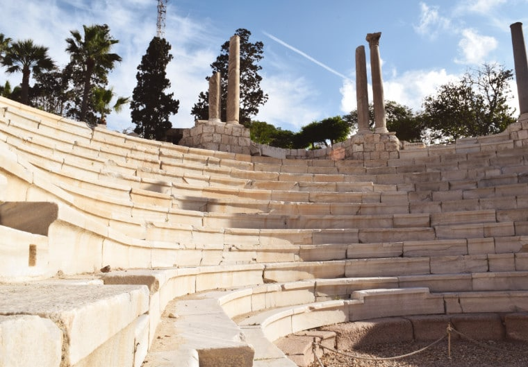 alexandria egito anfiteatro romano