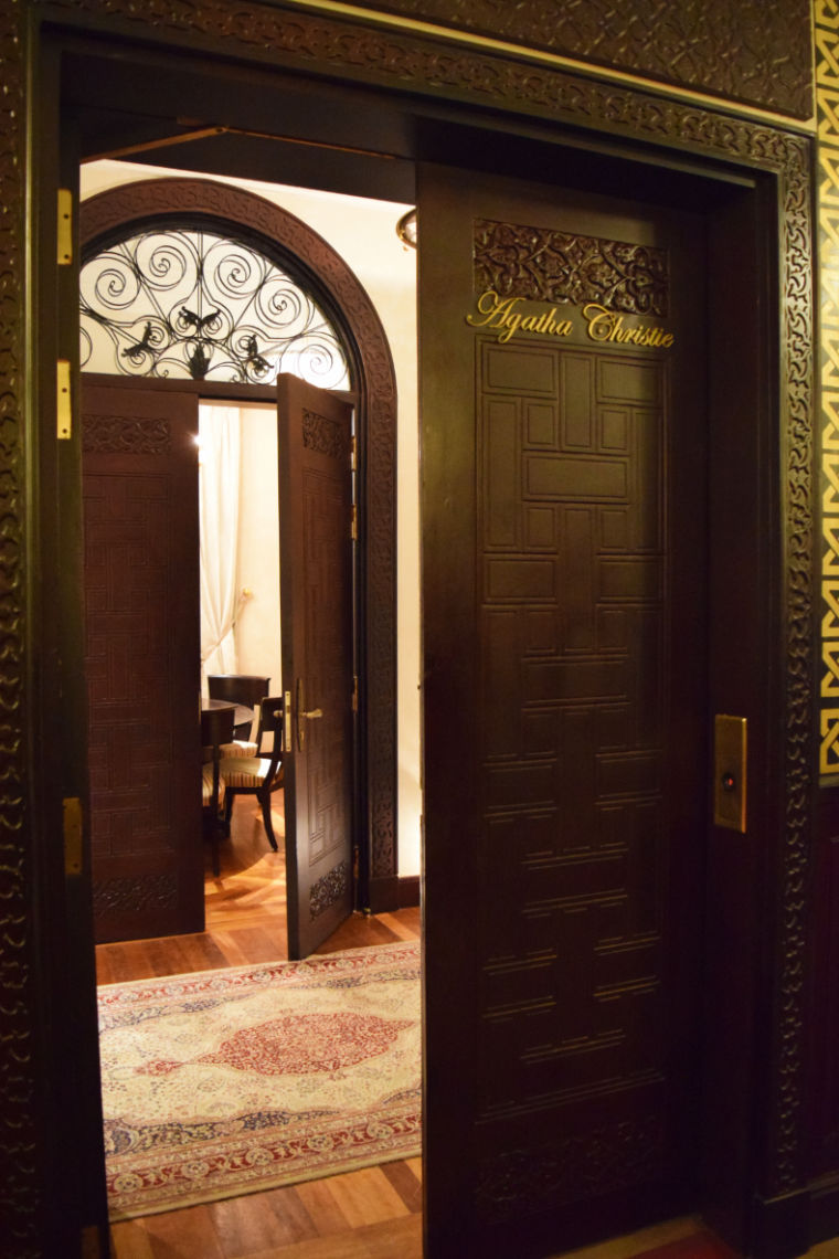 aswan egito hotel quarto agatha christie