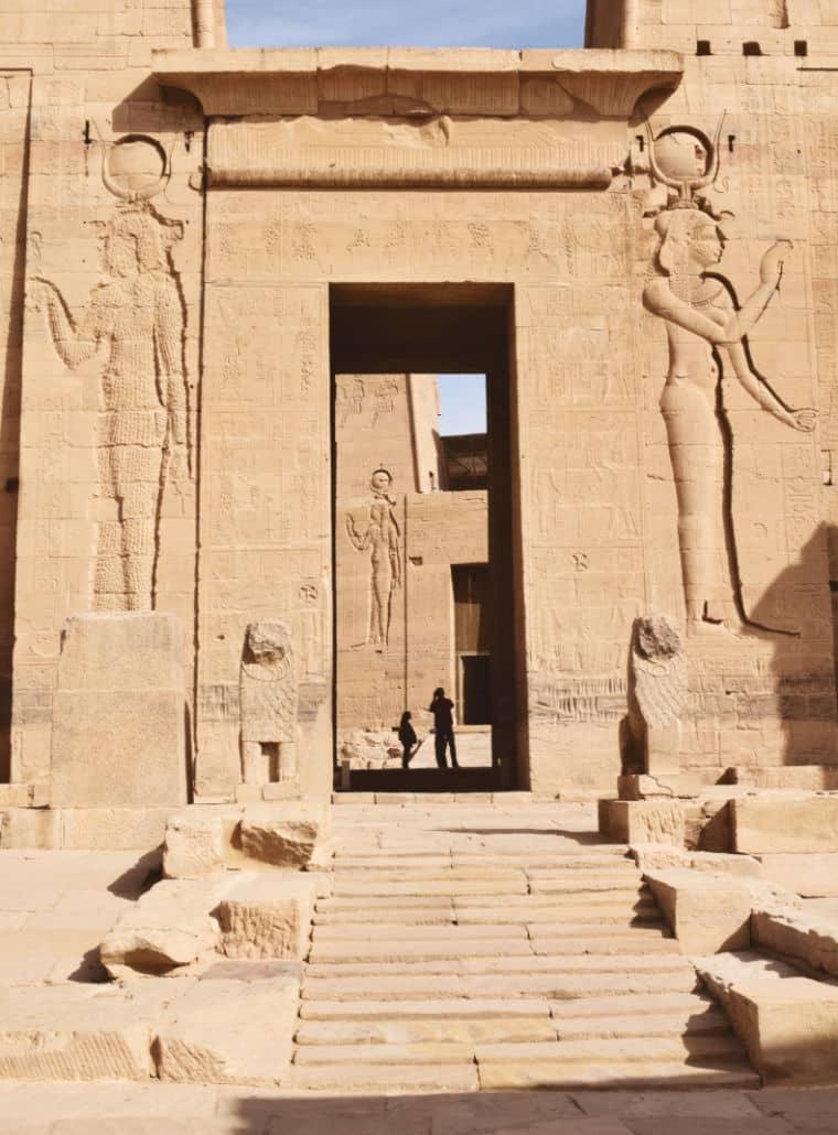 aswan egito templo de philae deusa isis