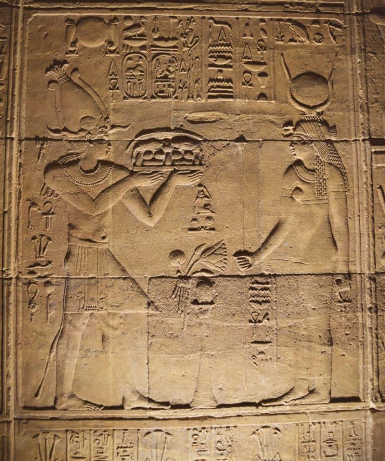 aswan egito templo de philae historia isis