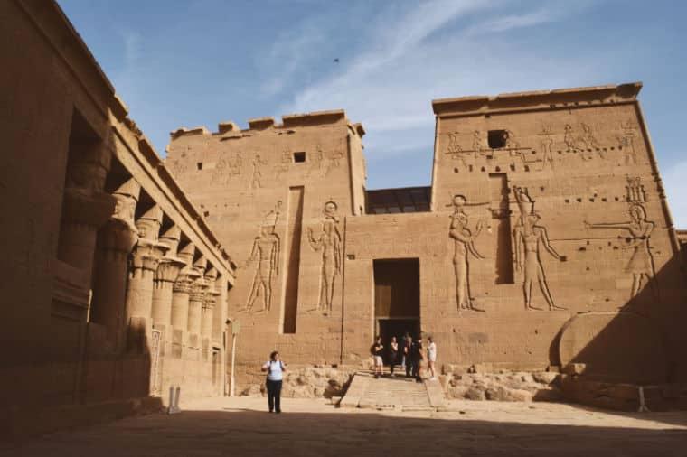 aswan egito templo de philae isis 1