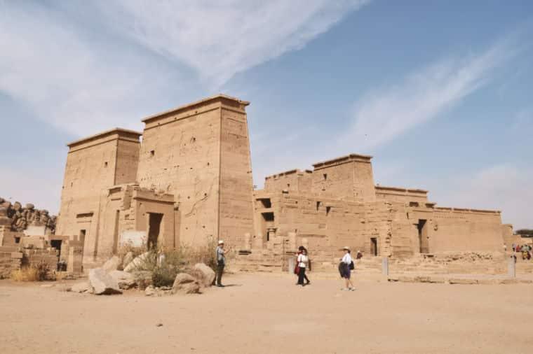 aswan egito templo de philae isis 2