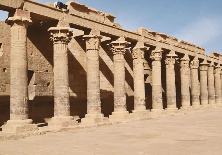 aswan egito templo de philae isis 3