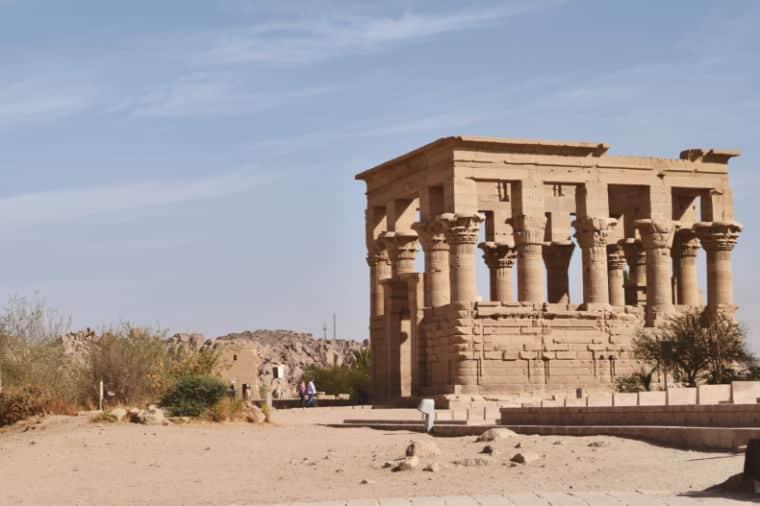 aswan egito templo de philae isis 4