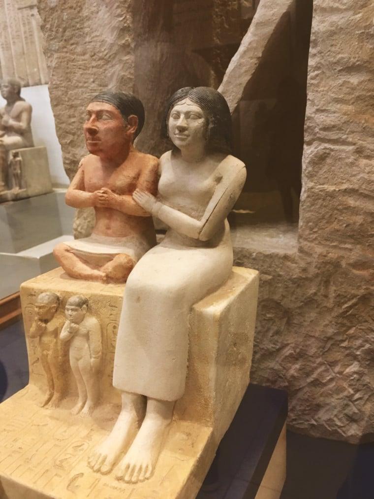 familia estatua tumba