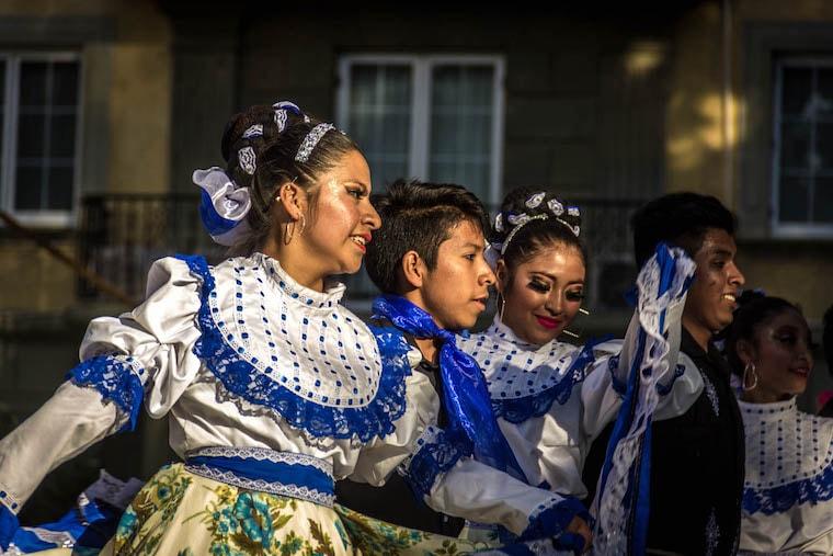 Dança típica de Oaxaca
