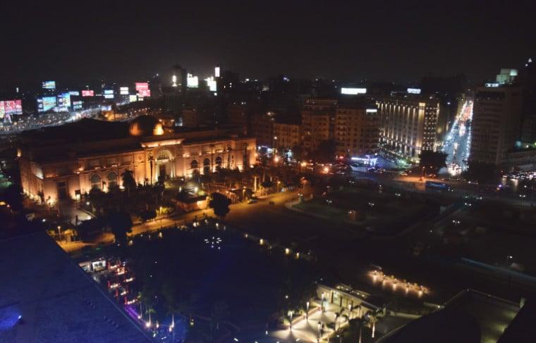 onde ficar no cairo praça tahrir e museu egípcio