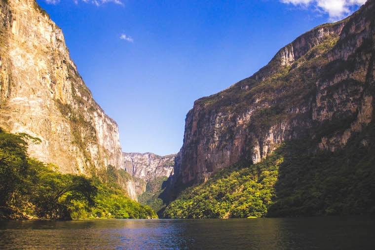 Cânion do Sumidero em Chiapas, México