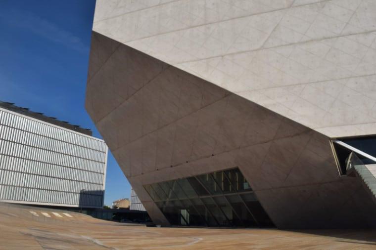 Casa da Musica Porto area externa