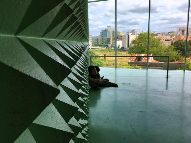 Casa da Musica Porto cyberoom