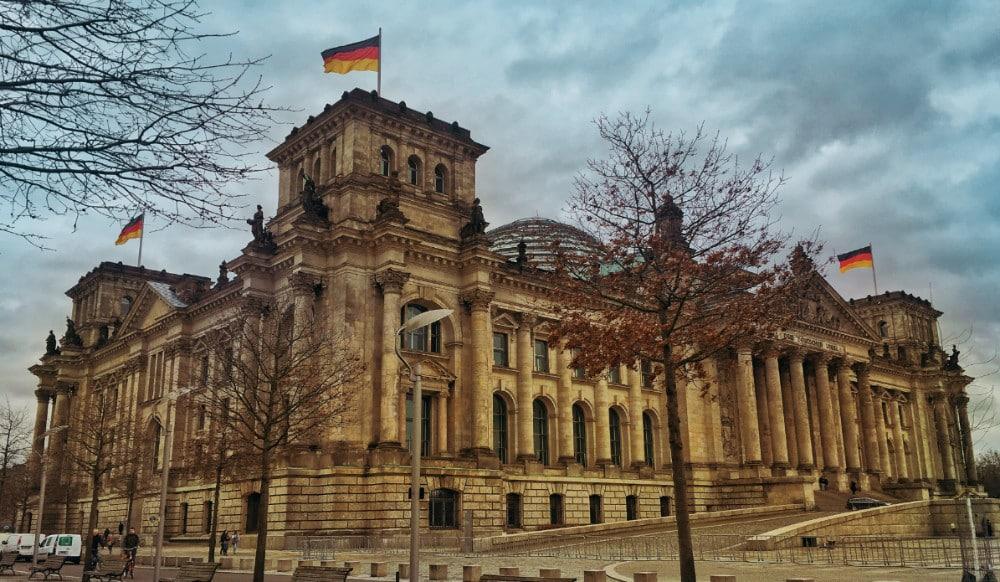Palacio Reichstag Berlim Parlamento Alemão