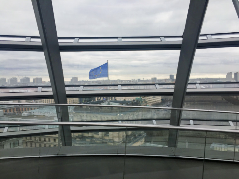Reichstag Berlim cupula vista