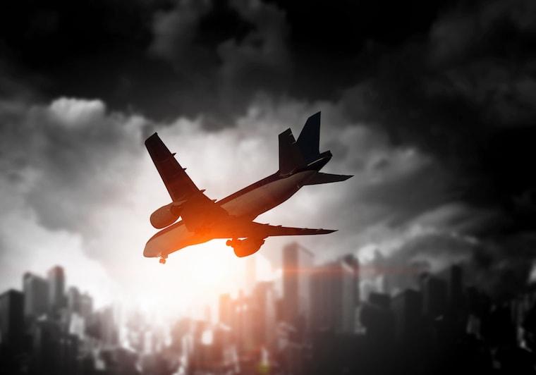 Acidentes de avião