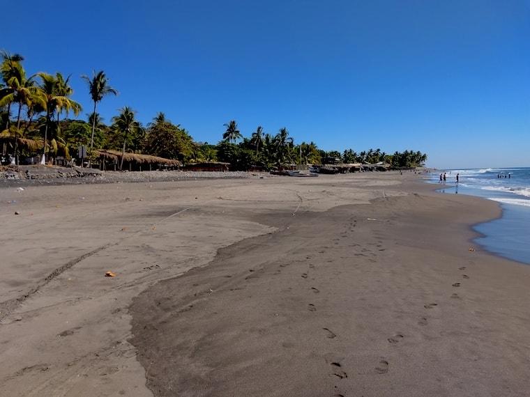 El Sunzal, praia em El Salvador
