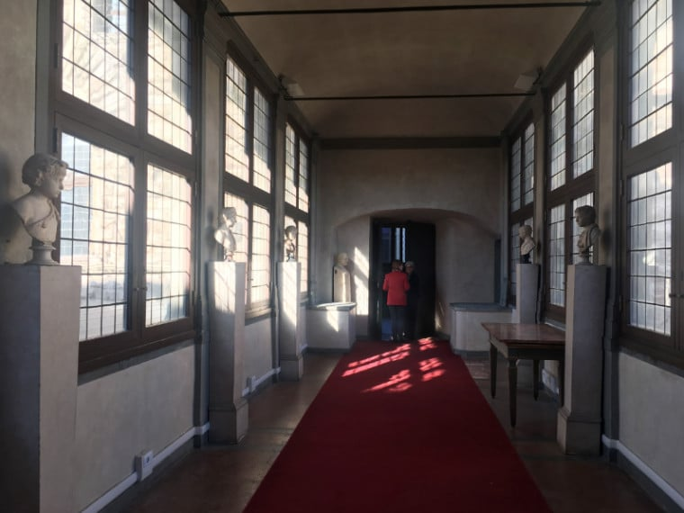 museus em florença corredor vasariano