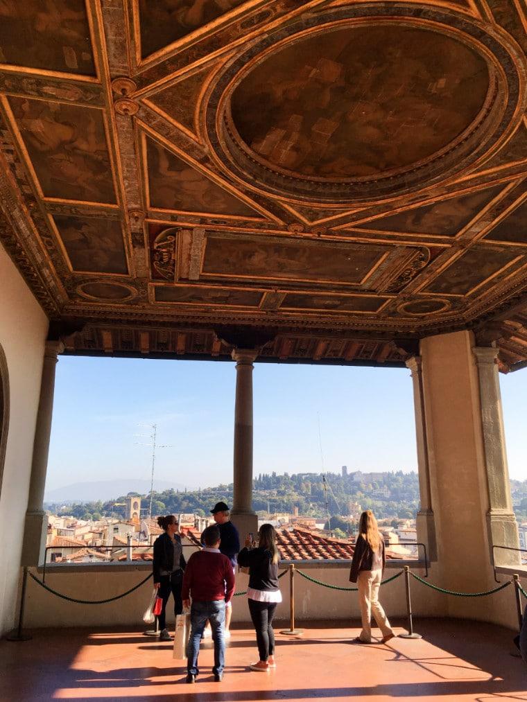 museus em florença palazzo vecchio